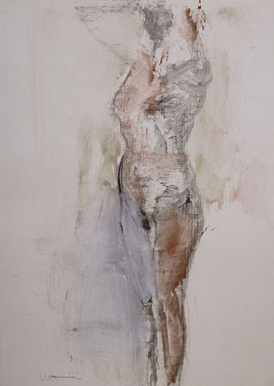 MANUEL NERI, UNTITLED XVI water-based pigments, charcoal on paper