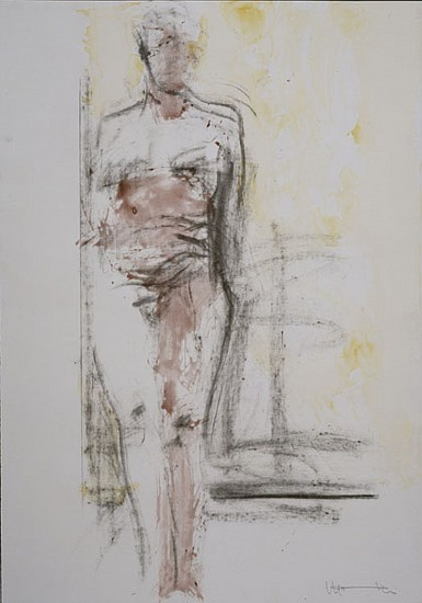 MANUEL NERI, UNTITLED XIV water-based pigments, charcoal on paper