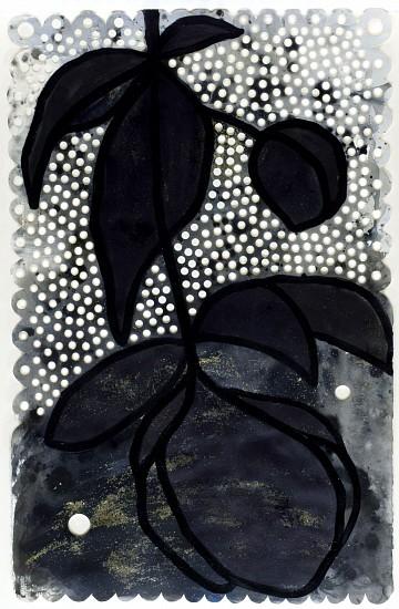 ANA MARIA HERNANDO, VAIVENE (SWAY) acrylic and ink on paper