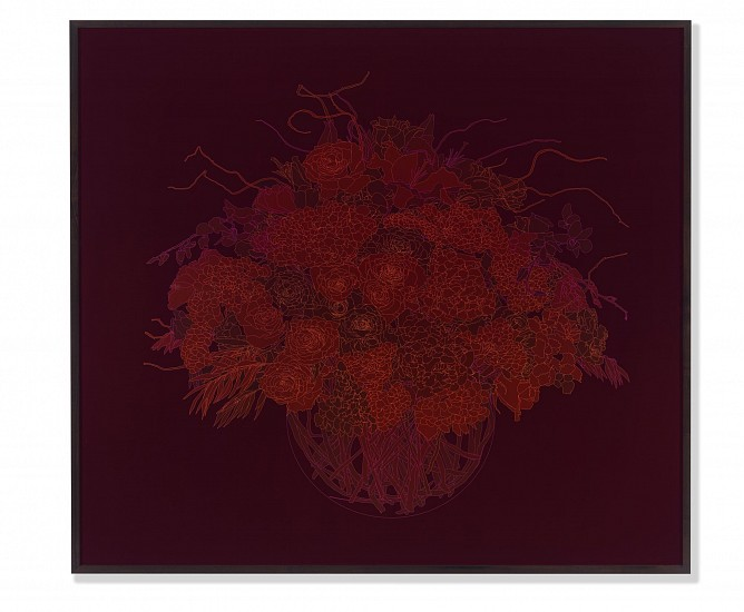 ANDREW MILLNER, BOUQUET 4/12 Lightjet print mounted to UV plex