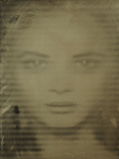 HALIM AL KARIM, ILLUSION 19 wet plate collodion on aluminum