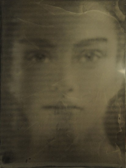 HALIM AL KARIM, ILLUSION 21 wet plate collodion on aluminum