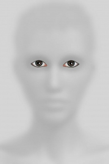 "HALIM AL KARIM, UNTITLED 3 ""WITNESS PORTRAIT"" SERIES 1/3 Ed 3 +2 AP Lambda print"