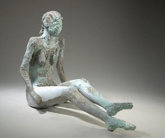 MANUEL NERI, LA PALESTRA No. 6 AP bronze, oil-based pigments