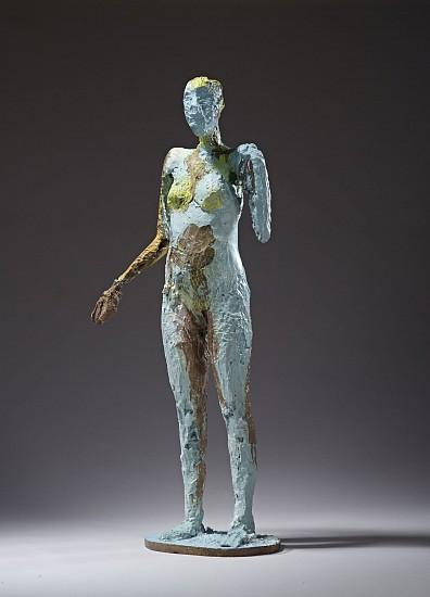 MANUEL NERI, COMING IN LAST THURSDAY 3/4 bronze with oil-based enamel