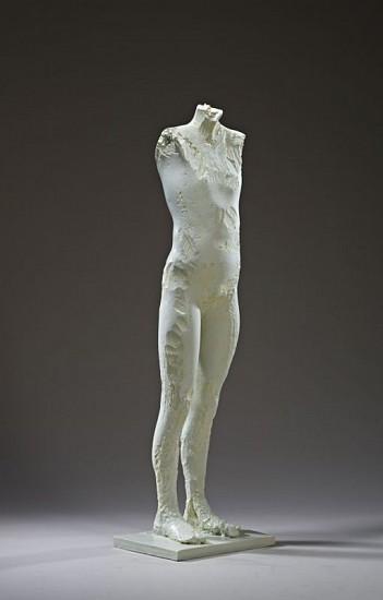 MANUEL NERI, INDIOS VERDES bronze with oil-based pigments