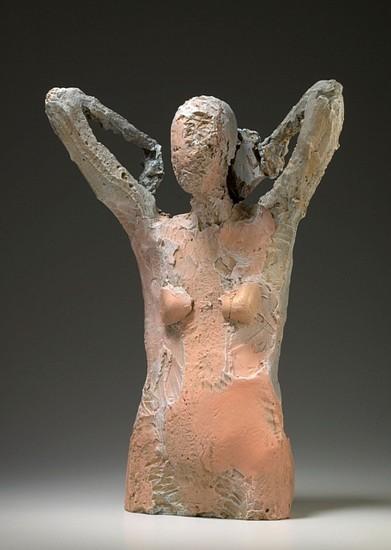 MANUEL NERI, POSTURING SERIES No.2 2/4 bronze with patina
