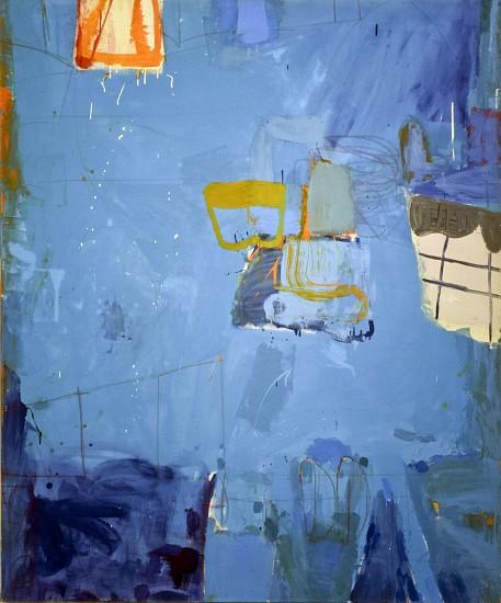 GARY KOMARIN, ABILENE mixed media on canvas