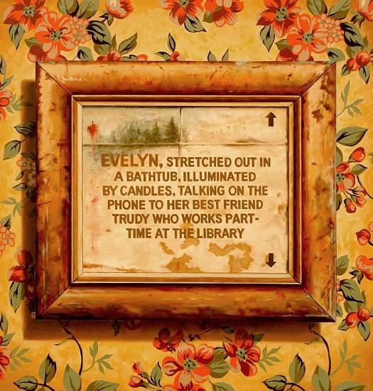 JERRY KUNKEL, NUDE oil on canvas
