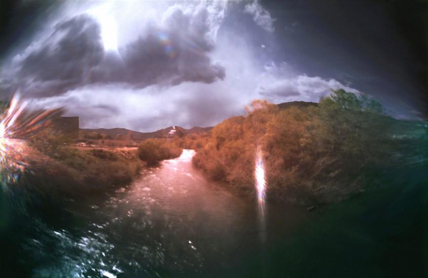 DAVID SHARPE, WATERTHREAD 57 color pinhole photograph
