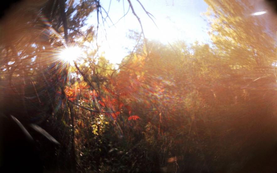 DAVID SHARPE, WATERTHREAD 77 color pinhole photograph