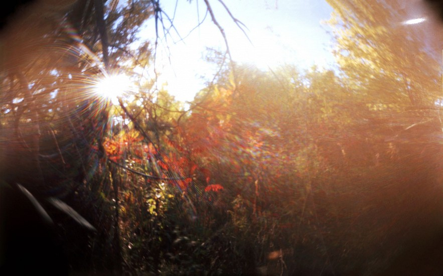 DAVID SHARPE, WATERTHREAD 77 color pinhole photograph