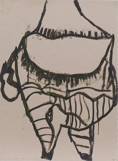 GARY KOMARIN, VESSEL acrylic on paper