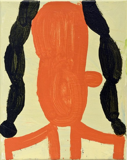 GARY KOMARIN, FRENCH WIG acrylic on canvas