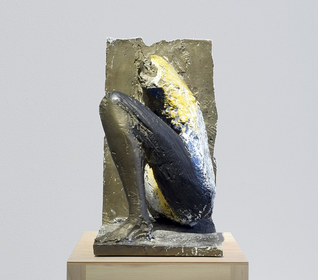 MANUEL NERI, ISLA NEGRA III (1/4) bronze with oil-based pigments
