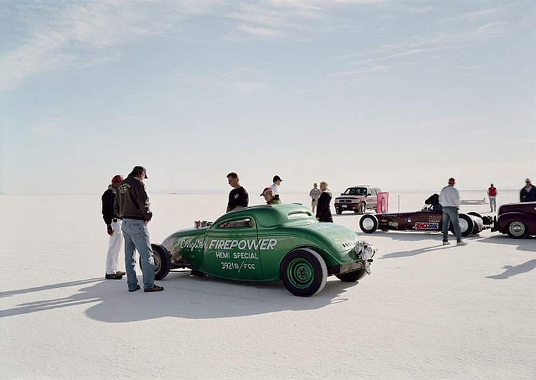 GARY HUIBREGTSE, BONNEVILLE SERIES #1,  #2 light jet print on fuji crystal archival paper