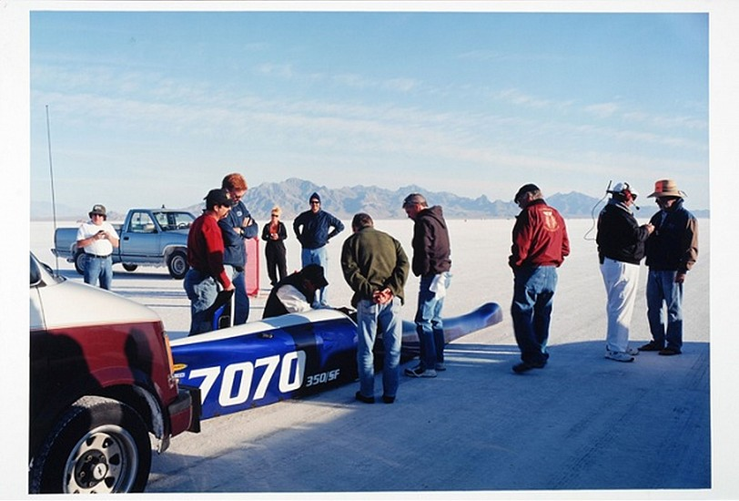 GARY HUIBREGTSE, BONNEVILLE, SERIES #1, #9 light jet print on fuji crystal archival paper