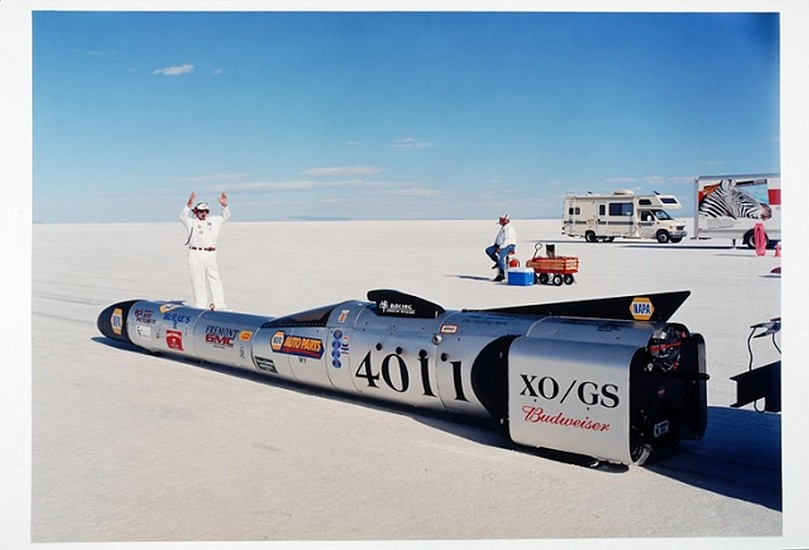GARY HUIBREGTSE, BONNEVILLE SERIES #1, #11 light jet print on fuji crystal archival paper