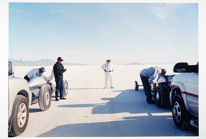 GARY HUIBREGTSE, BONNEVILLE SERIES #1, #12 light jet print on fuji crystal archival paper