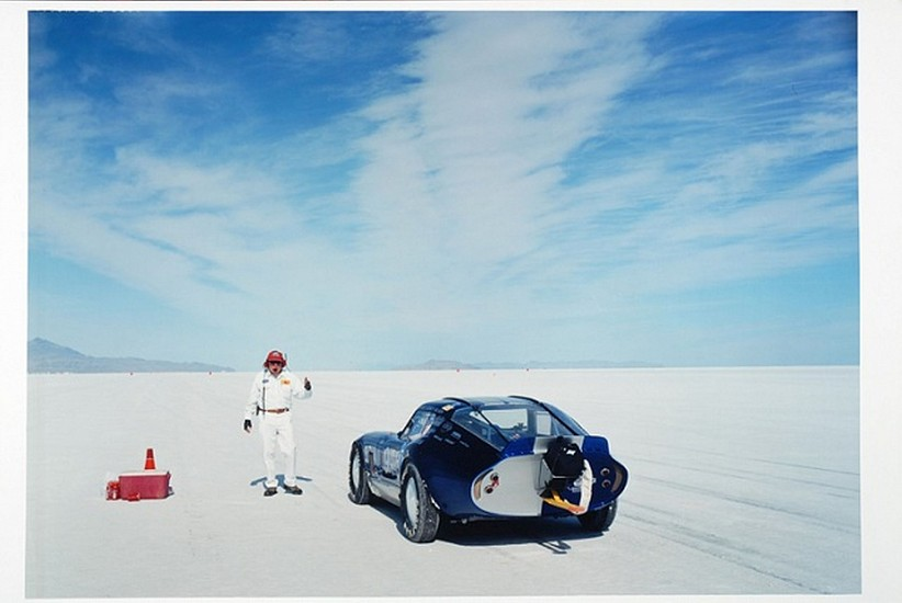 GARY HUIBREGTSE, BONNEVILLE SERIES #1, #17 light jet print on fuji crystal archival paper