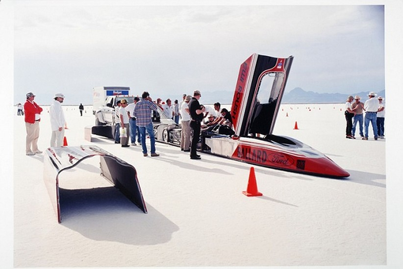 GARY HUIBREGTSE, BONNEVILLE SERIES #1, #18 light jet print on fuji crystal archival paper