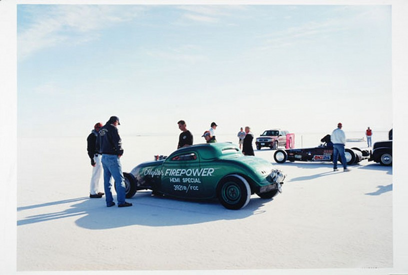 GARY HUIBREGTSE, BONNEVILLE SERIES #1, #4 light jet print on alunimum
