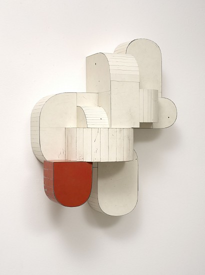 TED LARSEN, SAFETY DEVICE salvage steel, marine-grade plywood, silicone, vulcanized rubber, hardware