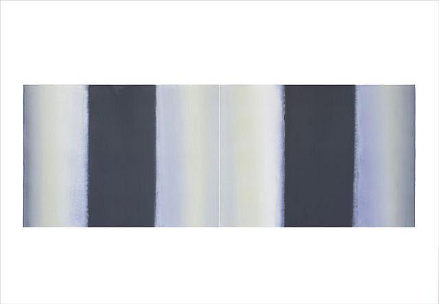 BETTY MERKEN, INTERVALS XXV #08-15-06 oil monotype