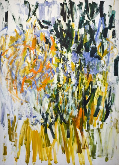 JOAN MITCHELL, STRAW oil on canvas