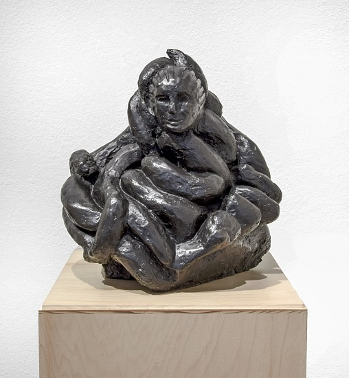 LOUISE BOURGEOIS, FEMALE PORTRAIT (SELF) bronze