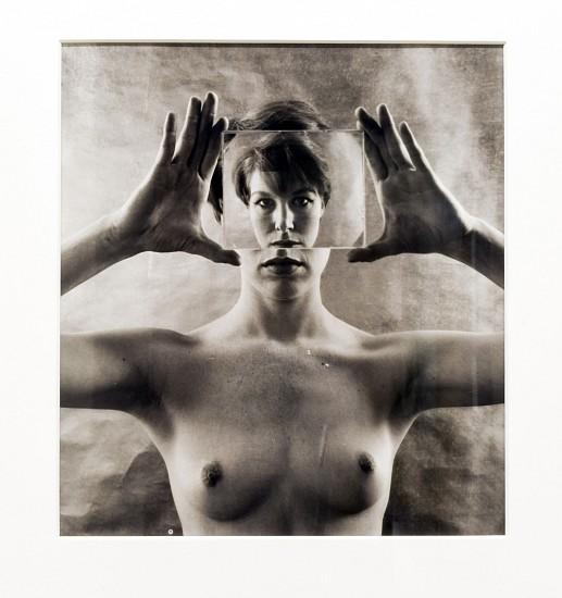 RUTH BERNHARD, BILLIE WITH GLASS silver gelatin print