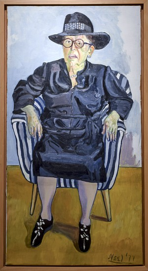 ALICE NEEL, LILY BRODY oil on canvas