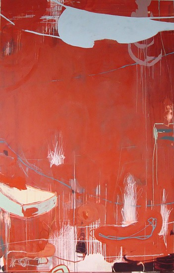 WENDI HARFORD, LOOT latex and acrylic paint, oil stick,lead pencil on canvas