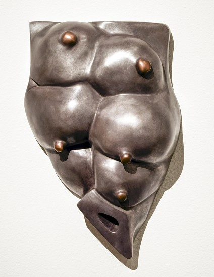 LOUISE BOURGEOIS, THE GOOD MOTHER bronze, silver nitrate, gold patina