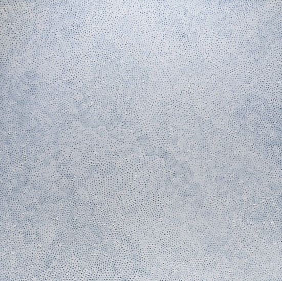 YAYOI KUSAMA, WHITE NETS acrylic on canvas