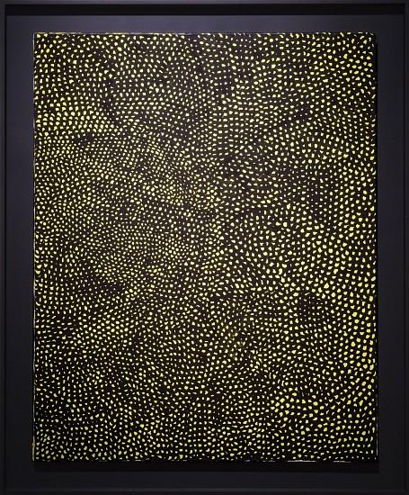 YAYOI KUSAMA, INFINITY NETS V.A.T. oil on canvas