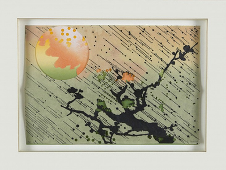 JUDY PFAFF, UNTITLED #6  49/50 etching, relief, digital, collage, hand punched