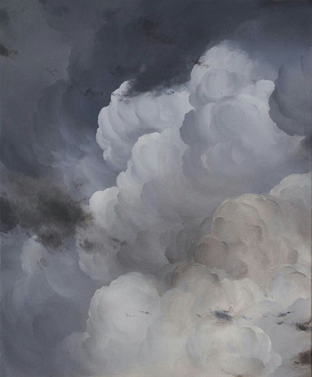 IAN FISHER, ATMOSPHERE NO. 67 oil on canvas