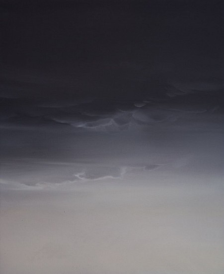 IAN FISHER, ATMOSPHERE NO. 70 oil on canvas