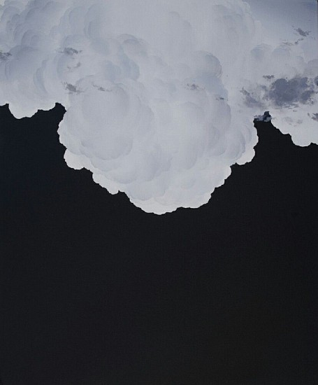 IAN FISHER, ATMOSPHERE NO. 71 oil on canvas