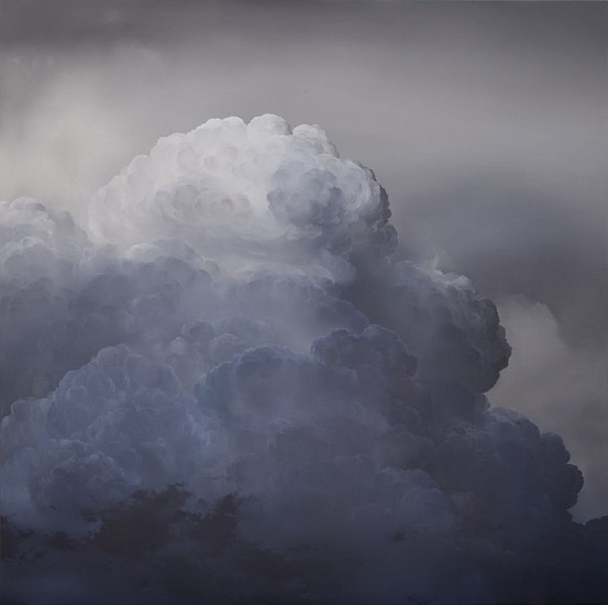 IAN FISHER, ATMOSPHERE NO. 75 oil on canvas