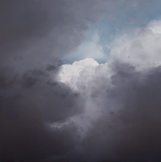 IAN FISHER, ATMOSPHERE NO. 76 oil on canvas