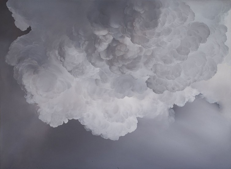 IAN FISHER, ATMOSPHERE NO. 77 oil on canvas