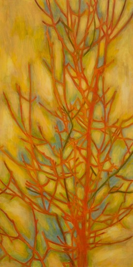 TRINE BUMILLER, TREE OF MAGICAL THINKING oil on panel