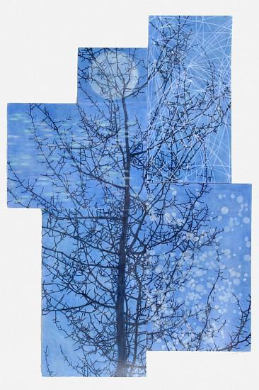 TRINE BUMILLER, BALSAMIC MOON oil on canvas