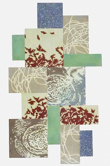TRINE BUMILLER, VOX oil on canvas