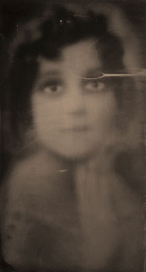 HALIM AL KARIM, ETERNAL LOVE 16 wet plate collodion photograph