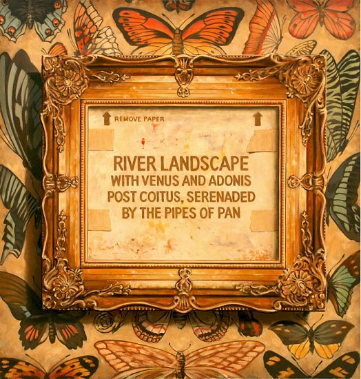 JERRY KUNKEL, LANDSCAPE oil on canvas