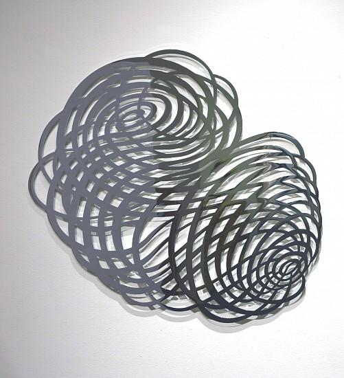 "RECENT ARRIVALS, LINDA FLEMING, ""TEMPEST Ed. 3"" chromed steel"