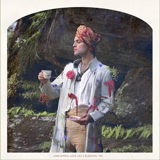 "RECENT ARRIVALS, KAHN+SELESNICK, ""LORD BYRON, LOVE-LIES-BLEEDING, TEA Ed. 5"" pigment print"